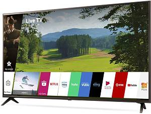 "Телевизор LED LG 65"" 65UK6300PLB черный/коричневый/Ultra HD/100Hz/DVB-T2/DVB-C/DVB-S2/USB/WiFi/Smart TV (RUS)"