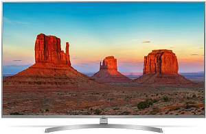 "Телевизор LED LG 65"" 65UK7550PLA титан/Ultra HD/100Hz/DVB-T2/DVB-C/DVB-S2/USB/WiFi/Smart TV (RUS)"